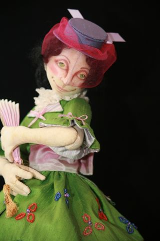 Colleen Babcock close up Advent Doll