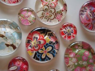 Japanese paper magnets