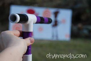Marshmellow pvc pipe gun