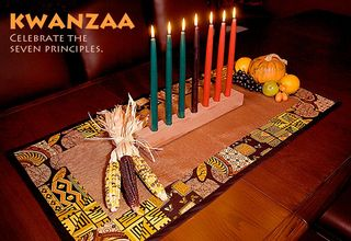 African table mat