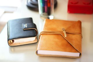 Leather diy journals
