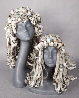 Paper wig tutorial