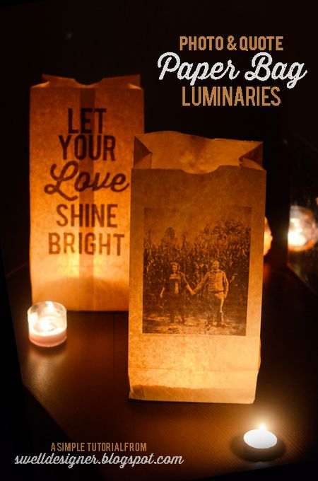 Photo-and-quote-paper-bag-luminaries