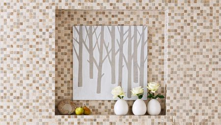Branched tree wall art