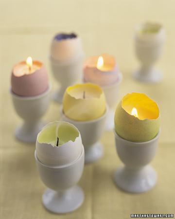 Egg votives