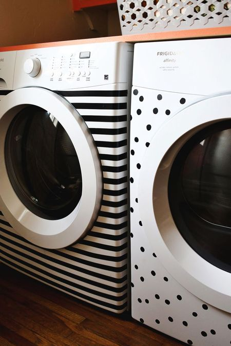 30 minute craft patterned washer dryer