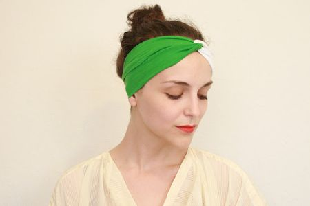 Summer sewing beach turban