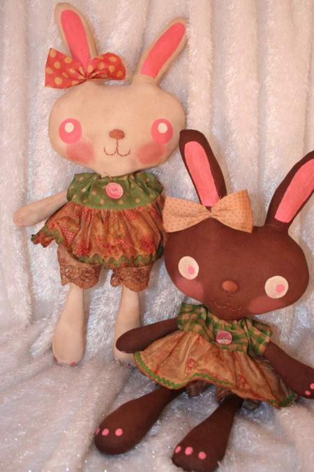 Free bunny prim patterns