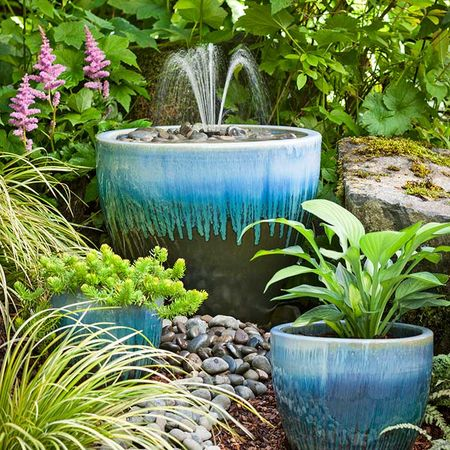 Outdoor crafts make your own garden fountain