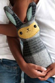 Wool bunny pattern