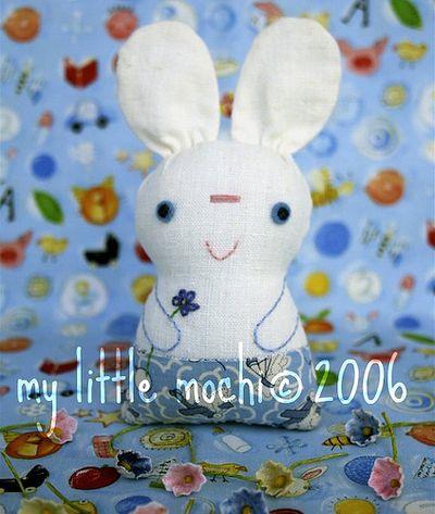 Bunny mochi pattern