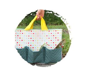Outdoor crafts garden bag pattern